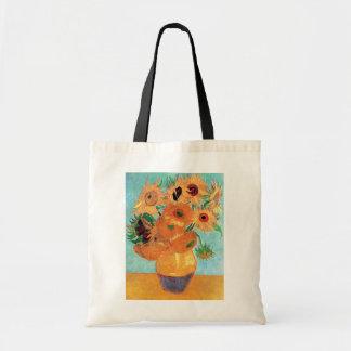 Van Gogh - Still Life Vase With Twelve Sunflowers Tote Bag