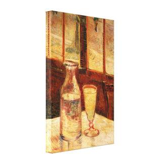 Van Gogh - Still Life with Absinthe Canvas Print