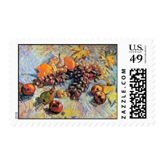 Van Gogh - Still Life With Apples Postage Stamps