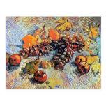 Van Gogh Still Life With Apples Postcard