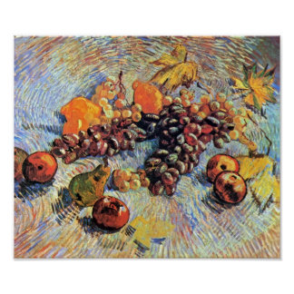 Van Gogh - Still Life With Apples Poster