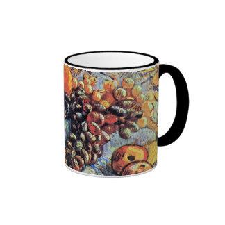 Van Gogh - Still Life With Apples Ringer Mug