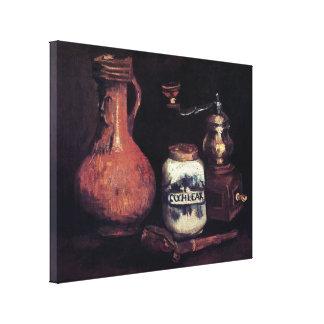 Van Gogh - Still Life With Coffee Mill Canvas Print