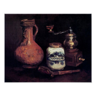 Van Gogh - Still Life With Coffee Mill Poster
