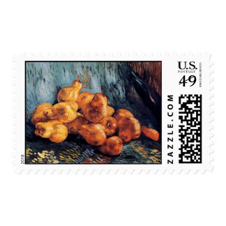 Van Gogh - Still Life With Pears Stamp