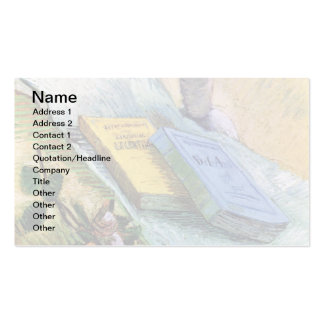 Van Gogh - Still Life With Plaster Statuette Double-Sided Standard Business Cards (Pack Of 100)