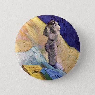 Van Gogh - Still Life With Plaster Statuette Button