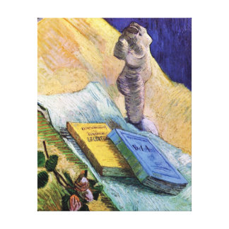 Van Gogh - Still Life With Plaster Statuette Canvas Print