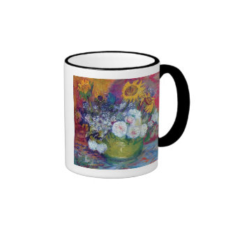 Van Gogh - Still Life With Roses And Sunflowers Coffee Mugs