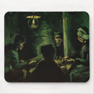 Van Gogh; Study for The Potato Eaters, Vintage Art Mouse Pad