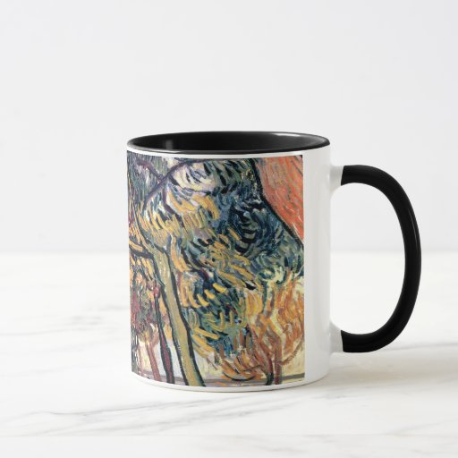 Van Gogh - Study Of Pine Trees Mug