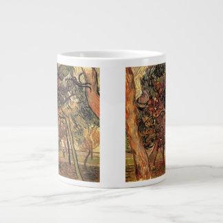 Van Gogh Study of Pine Trees Vintage Impressionism Large Coffee Mug