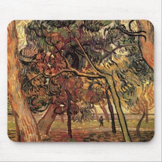 Van Gogh Study of Pine Trees Vintage Impressionism Mouse Pad