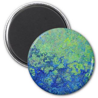 Van Gogh Style Paint Pattern Magnet