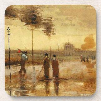 Van Gogh Sunday in Eindhoven Fine Art Drink Coasters