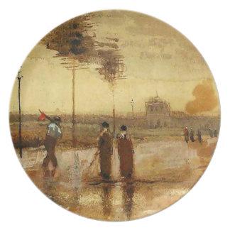 Van Gogh Sunday in Eindhoven Fine Art Dinner Plate