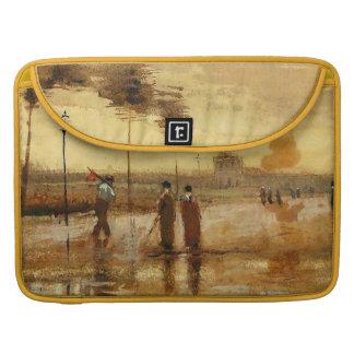 Van Gogh Sunday in Eindhoven Fine Art MacBook Pro Sleeve