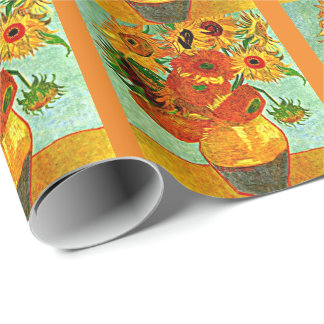 Van Gogh - Sunflowers 12 Wrapping Paper