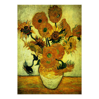 Van Gogh - Sunflowers, 14 Poster