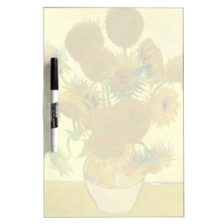 Van Gogh   Sunflowers   1888 Dry-Erase Board