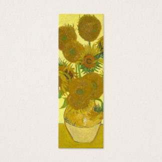 Van Gogh | Sunflowers | 1888 Mini Business Card