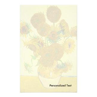 Van Gogh | Sunflowers | 1888 Stationery