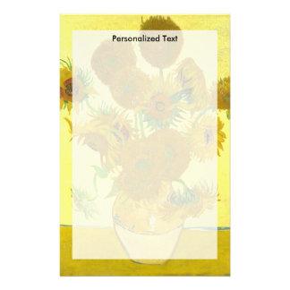 Van Gogh   Sunflowers   1888 Stationery