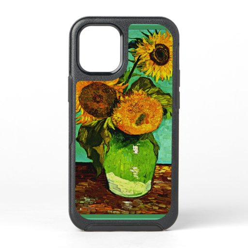 Van Gogh - Sunflowers (3), famous painting OtterBox Symmetry iPhone 12 Mini Case