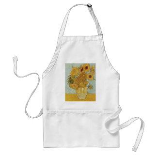Van Gogh Sunflowers Adult Apron