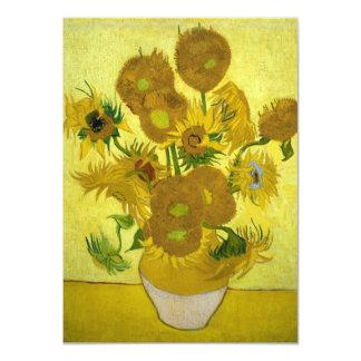 Van Gogh Sunflowers Card