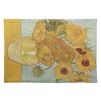 Van Gogh - Sunflowers Cloth Place Mat