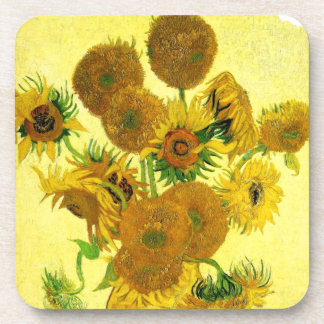 Van Gogh Sunflowers Coasters