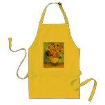 Van Gogh Sunflowers (F455) Vintage Fine Art Apron