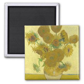 Van Gogh - Sunflowers Fridge Magnet