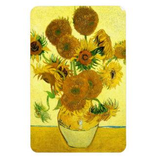 Van Gogh Sunflowers Magnet