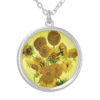 Van Gogh Sunflowers Necklace