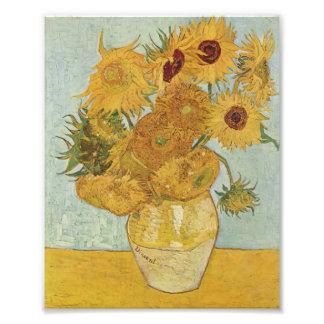 Van Gogh Sunflowers Photo Print