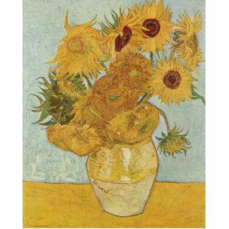 Van Gogh Sunflowers Acrylic Cut Out
