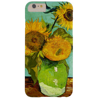 Van Gogh - Sunflowers, Three Barely There iPhone 6 Plus Case