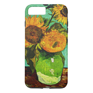 Van Gogh - Sunflowers, Three iPhone 7 Plus Case