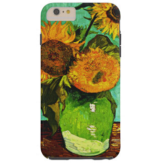 Van Gogh - Sunflowers, Three Tough iPhone 6 Plus Case