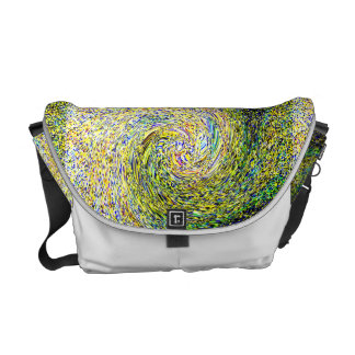 Van Gogh Swirl Medium Messenger Bag