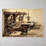 Van Gogh - tejedor Impresiones