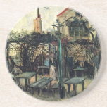 Van Gogh; Terrace of a Cafe on Montmartre Drink Coasters