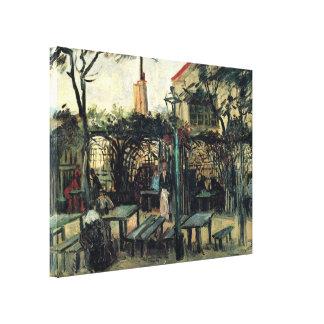 Van Gogh Terrace of a Cafe on Montmartre, Fine Art Canvas Print