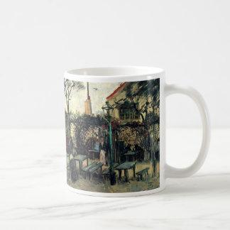Van Gogh Terrace of a Cafe on Montmartre, Fine Art Coffee Mug
