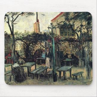 Van Gogh Terrace of a Cafe on Montmartre, Fine Art Mouse Pad