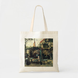 Van Gogh Terrace of a Cafe on Montmartre, Fine Art Tote Bag