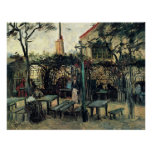 Van Gogh; Terrace of a Cafe on Montmartre Poster
