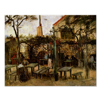 Van Gogh Terrace of Cafe, Montmartre (F238) Print